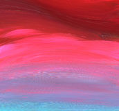 Abstract acrylic painted background Stock Image