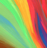 Abstract acrylic painted background Royalty Free Stock Photo