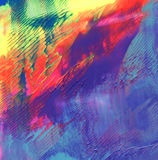 Abstract acrylic painted background Royalty Free Stock Photos
