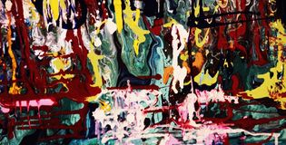 Colorful paintings for digital. Printing Royalty Free Stock Photos