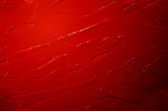 Abstract acrylic red background Stock Images