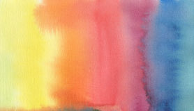 Abstract acrylic and watercolor gradient painted background. Texture paper Stock Photo