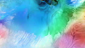 Abstract acrylic, watercolor painted background. Stock Images
