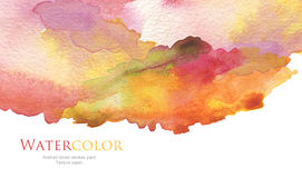 Abstract acrylic and watercolor painted background Stock Photos