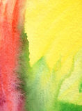 Abstract acrylic and watercolor painted background Royalty Free Stock Photo