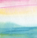 Abstract acrylic and watercolor painted background. Royalty Free Stock Images
