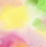 Abstract acrylic and watercolor painted background. Stock Photo