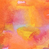 Abstract acrylic and watercolor painted background. Stock Images