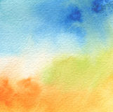 Abstract acrylic and watercolor painted background. Texture paper Royalty Free Stock Photography