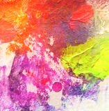 Abstract acrylic and watercolor painted background. Texture paper Stock Images