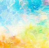 Abstract acrylic and watercolor painted background. Texture paper Stock Image