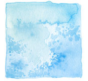 Abstract acrylic and watercolor painted frame. Texture paper bac. Kground Royalty Free Stock Photo