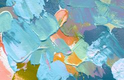 Abstract acrylic and watercolor painting. Canvas background stock photos
