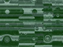 Abstract background green gradient futuristic structure pattern. Abstract advertising background, green gradient futuristic structure matrix motion pattern royalty free illustration