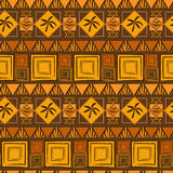 Abstract African background. With tiger skin and palms Stock Illustration