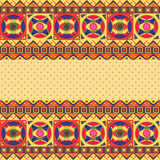 Abstract African Card Royalty Free Stock Images