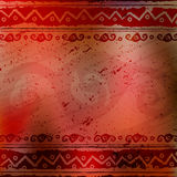 Abstract african ethnic background Royalty Free Stock Images