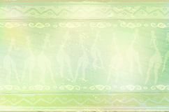 Abstract african ethnic background Stock Image