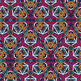 Abstract african seamless pattern. Repeating ornament in bright colors. Vector illustration vector illustration