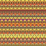 Abstract Afrikaans Inheems Naadloos Patroon stock illustratie