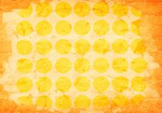 Abstract aged yellow paper Stock Image