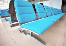 Abstract airport seats Royalty Free Stock Photos