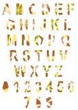 Abstract alphabet Royalty Free Stock Photos