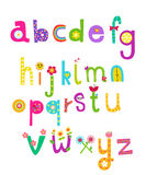 Abstract alphabet Stock Images