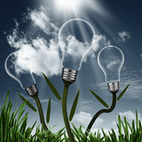 Abstract alternative energy background Stock Photo