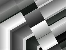 Abstract aluminum architectural detail dynamic background. Abstract aluminum architectural detail, gray dynamic background, techno texture, urban  shape square Royalty Free Stock Image