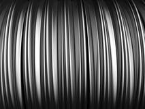 Abstract aluminum stripe pattern background. 3d illustration stock illustration