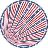 Abstract american flag Stock Photos