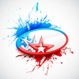 Abstract American Flag Background. Illustration of abstract American Flag for Independence Day Vector Illustration