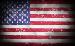 Abstract american flag background. Abstract american flag old background Royalty Free Stock Photo