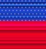 Abstract American Flag for happy 4th of july Stock Photos
