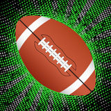 Abstract american football background. Abstract grunge american football background. Vector illustration stock illustration