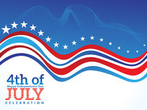Abstract american independence day background Royalty Free Stock Images