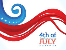 Abstract american independence day Stock Image