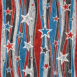 Abstract American seamless background - Stars seamless pattern Stock Image