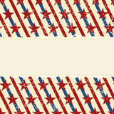Abstract american striped background. Vector Stock Photo