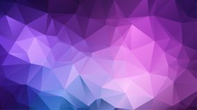Abstract amethyst background. Consisting of colored triangles vector illustration