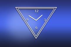 Abstract analog wall  clock Royalty Free Stock Images