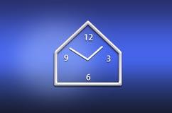 Abstract analog wall  clock Royalty Free Stock Photography