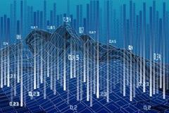 Abstract analysis infographics background. Big data.  Vector Illustration. Abstract analysis infographics background. Big data royalty free illustration
