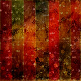 Abstract ancient background. In scrapbooking style with gold ornamentat royalty free illustration