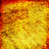 Abstract ancient background with letters Royalty Free Stock Images