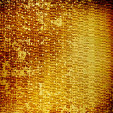 Abstract ancient background in scrapbooking style. With gold ornamentat vector illustration