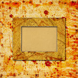Abstract ancient background in scrapbooking style Royalty Free Stock Photography
