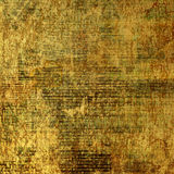 Abstract ancient background. In scrapbooking style with gold ornamental royalty free illustration