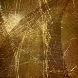 Abstract ancient background in scrapbooking style. With gold ornamental stock illustration